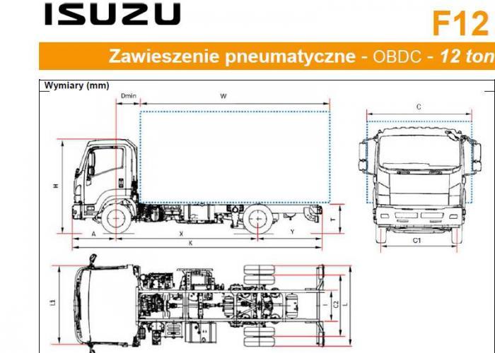 Opis techniczny Isuzu F12 Pneu.