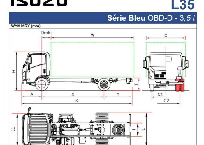 Opis techniczny Isuzu L35